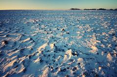 Solsbury Hill - Snow (Luke_23) Tags: ocean christmas longexposure winter sea bw snow pier bath weymouth solsburyhill 10stopfilter