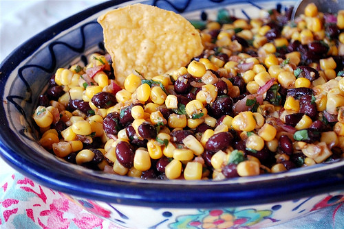 New Year's Eve Appetizers: Black Bean Salsa