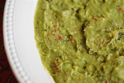 Mexican Layered Dip - Guacamole