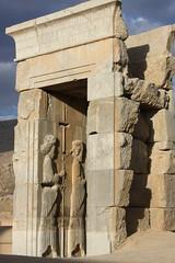 Persepolis - Shiraz - Iran |   -  (Pedram Veisi) Tags: day iran cloudy shiraz   fars parseh      farvahar cyrusthegreat faravahar   dariusthegreat  achaemeniddynasty perseplis