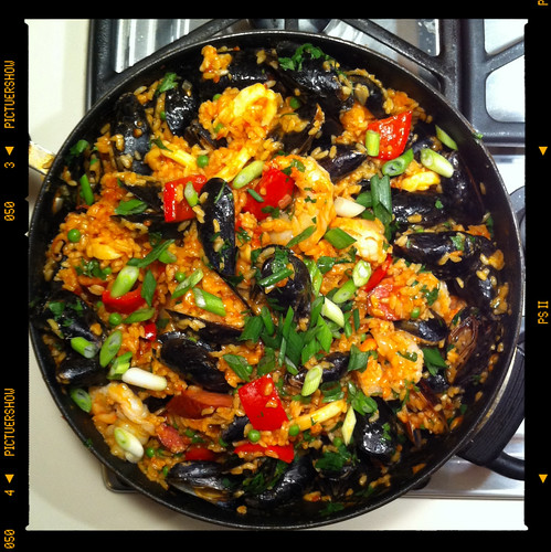paella - ready