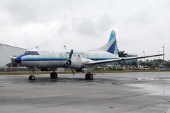 N41527 CV-440 Miami Air Lease (eigjb) Tags: airplane florida miami aircraft aviation air piston airliner lease kopf opf convair cv440 propliner opalocka n41527