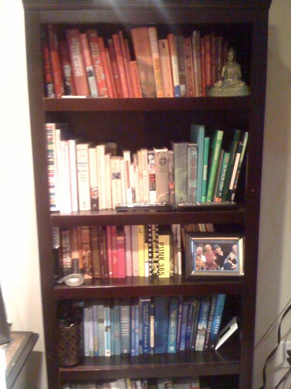 Colorful Bookcase