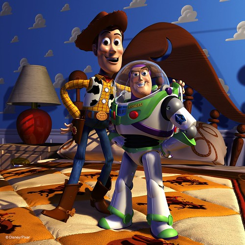 Woody & Buzz (Courtesy Pixar)