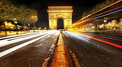 Arc de Triomphe (Stuck in Customs) Tags: world city travel urban paris france monument seine digital french island photography blog high europe republic dynamic stuck state district capital champs historic september photoblog software processing western triumphalarch imaging northern revolutionary region range arrondissement elysees metropolitan hdr tutorial trey ville travelblog customs 2010 linchpin elysianfields placecharlesdegaulle roadjunction ratcliff axehistorique hdrtutorial stuckincustoms laplusbelleavenuedumonde treyratcliff regionparisienne photographyblog iledefrance avenuedeschampselysees stuckincustomscom nikond3x faubourgduroule placedeletoile arcdetriomphedeletoile squareofthestar republiquefrancaise