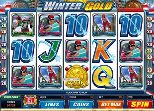 Winter Gold slot game online review