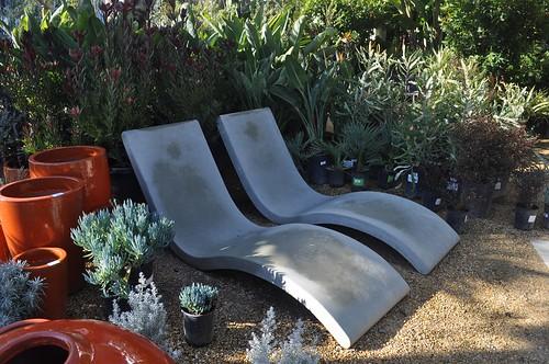 concrete recliners