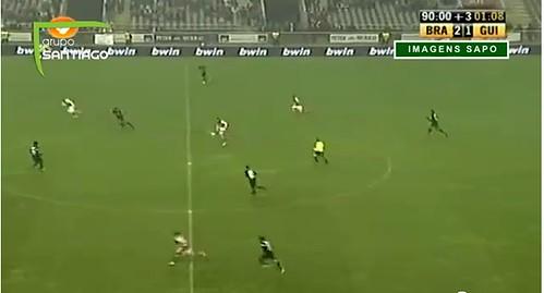 Meyong (Braga) marca golo limpo ao Guimarães