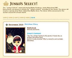 Junko's Select december 2010