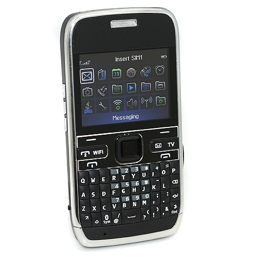 EBL E72 Dual Sim Card Dual Standby Cell Phone WIFI Java TV