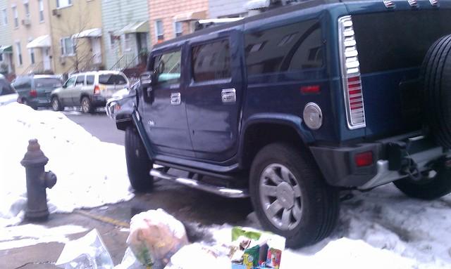 Outside the 94th precinct