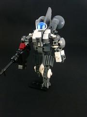 Angel mech: Variant 1.0 (Lego Junkie.) Tags: city angel lego 10 mecha variant laygoe gryndale
