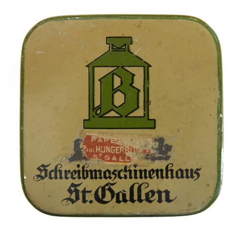 Farbbanddose Schreibmaschinenhaus St. Gallen
