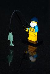 Lego Fisherman