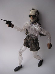 The Invisible Man - Jack Griffin on the Prowl 1405 (Brechtbug) Tags: new york city shadow man film halloween sunglasses monster scarf movie jack toy toys scary shoes gun shadows with action invisible dr gloves doctor camouflage figure horror terror claude shorts monsters universal transparent mad creatures creature figures bandage griffin sideshow rains scientist bandages fright prowl the