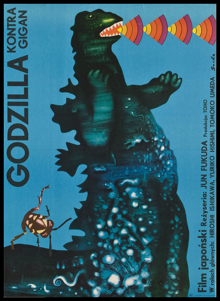 Godzilla vs. Gigan (Toho, 1977) Polish