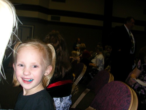 Dec 29 2010 Haley at Rebecca Erekeson's baptism