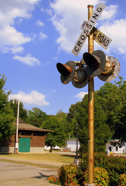 Railroad Crossing - Erin, TN