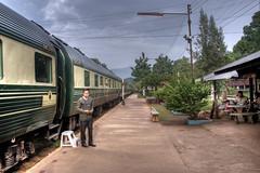 all aboard (gwashley) Tags: train thailand wangpho easternorientalexpress