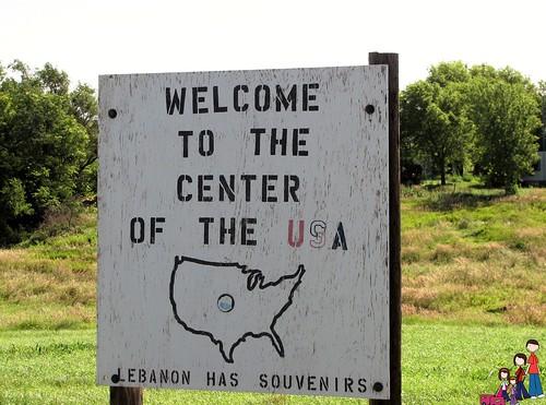 Center of the USA