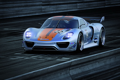 Porsche 918 RSR Coupe Concept Photos