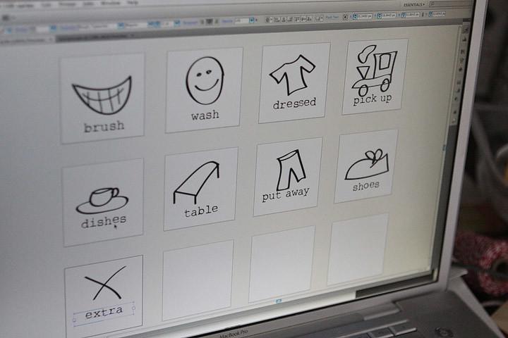 illustrator chore chart