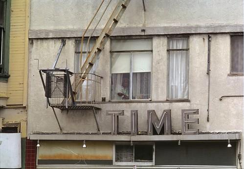 Richard Nagler, Time, Oakland, California, July 1977