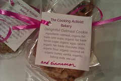 Delightful Oatmeal Cookie, organic and fair trade