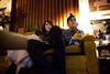 Sloane & Michael (BurlapZack) Tags: couch watchingamovie canonef28mmf18usm canoneos5dmarkii panector