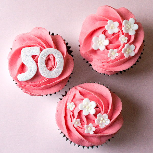 50th birthday cupcakes 1