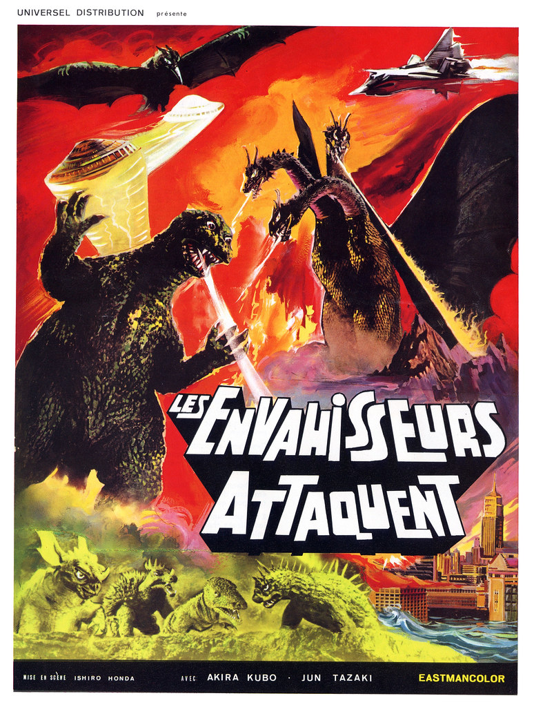 Destroy All Monsters(1968, Japan)