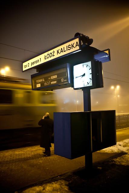 Łódź Kaliska dworzec