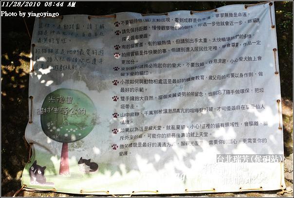 台北瑞芳(侯硐站)貓村20101128_I5603