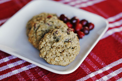 Saying Thank You (With Cranberry Chocolate Chunk Oatmeal Cookies)