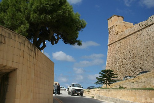 Photos of Fortresses and Castles Malta