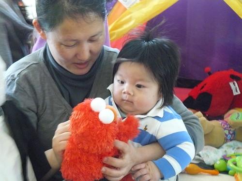meeting Elmo