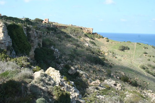 Photo of the site of Calypso Cave in Gozo Island, Malta