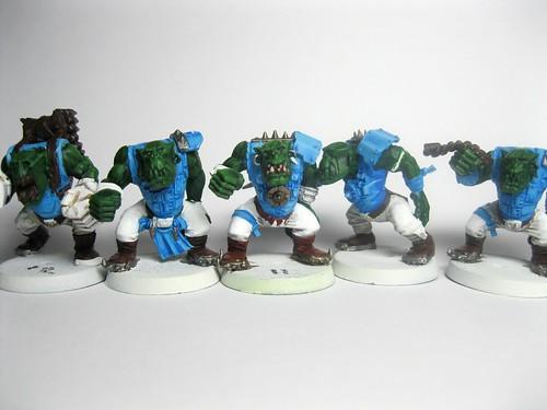 Orc Linemen