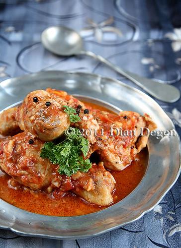 Ayam Pedas Masak Jahe Gaya India