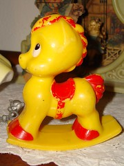 rockinghorse rattle (inmyjammiesintx) Tags: baby toy rattle nusery