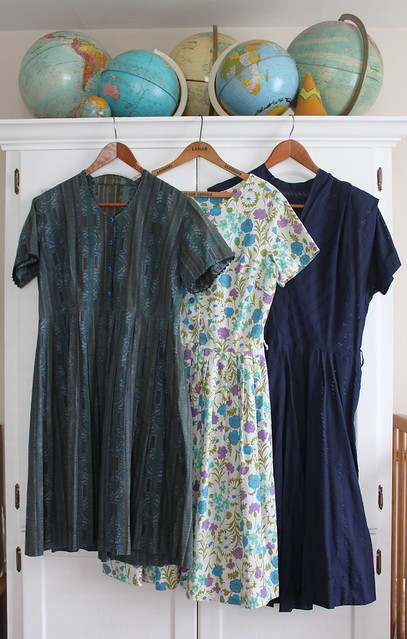 Thrifted Vintage Dresses