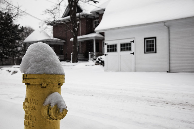Yellow Hydrant [EOS 5DMK2 | EF 24-105L@45mm | 1/800 s | f/6.3 | ISO200]
