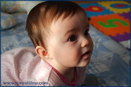 Nine months old.  Yowza.