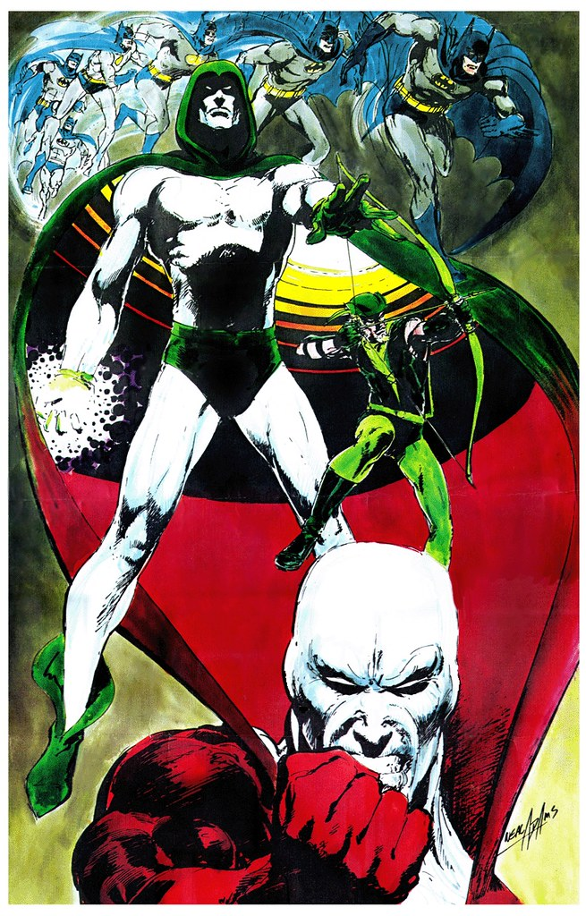 Batman Deadman The Spectre DC Comics poster by Neal Adams