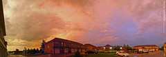 Storms in Olathe, 180 Panorama, 8 June 2010 (photography.by.ROEVER) Tags: autostitch panorama weather kansas thunderstorm storms 180 stormcloud 2010 stormyweather olathe joco panormic johnsoncounty 180panorama kansascitymetro kcmetro june2010