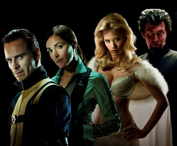 X-Men First Class actores