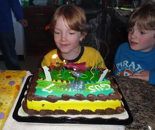 Gus is 7