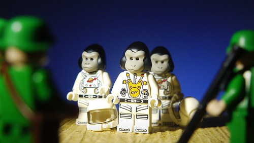 Custom minifig Escape from the Planet of The Apes