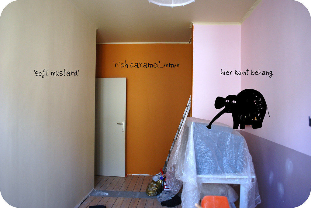 Janne's kamer vorderingen