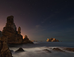 Liencres (martin zalba) Tags: night stars landscape star noche spain paisaje estrellas estrella cantabria liencres urros
